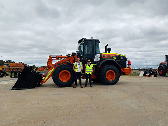 Jay and Paul why are the owners of ESM Resources standing in front of an excavator.